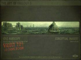 Fallout 3 concept art book