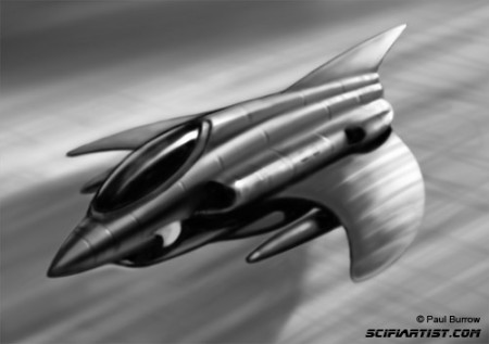 Fighter jet digital drawing