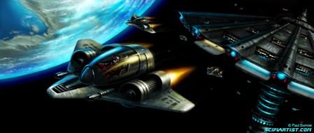 Spaceships on patrol