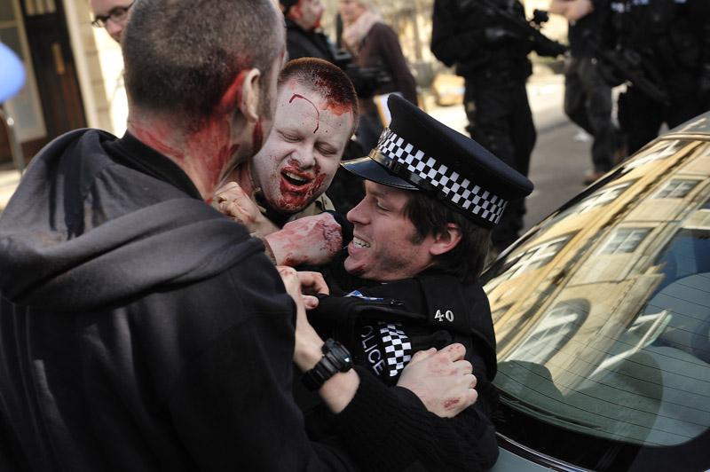 Eating a Policeman