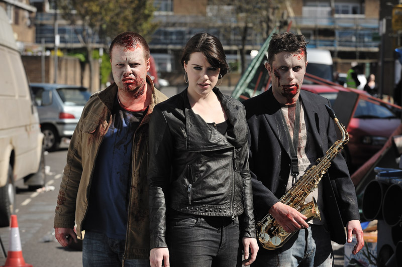 Michelle Ryan and zombies