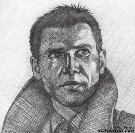 Rick Deckard - Blade Runner sketch
