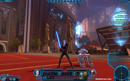 Jedi on Coruscant - Star Wars The Old Republic Beta