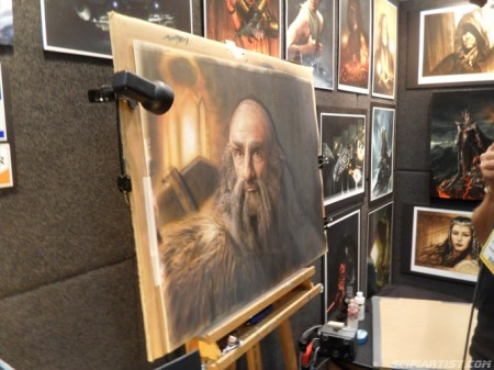 Artwork at sdcc2012