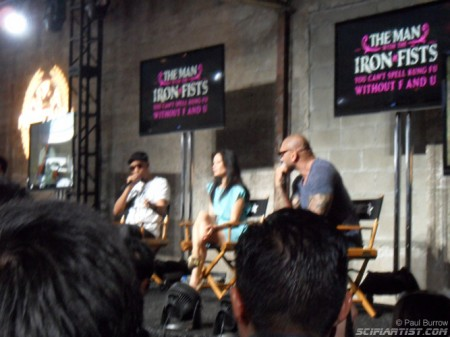 Man with the iron fists panel at Nerd HQ