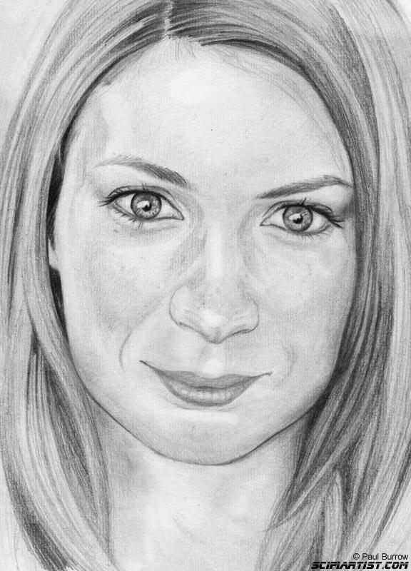 Felicia Day Sketch by Paul Burrow