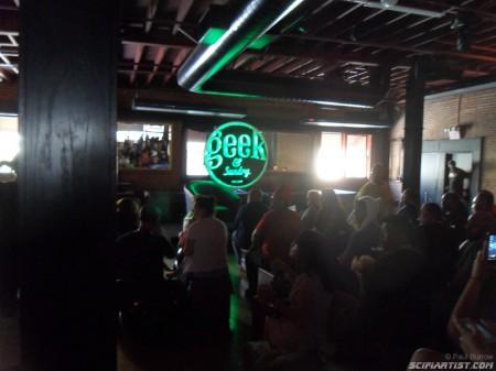 Inside the Geek & Sundry lounge