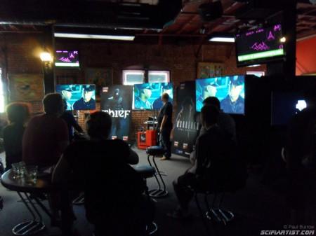 Geek & Sundry gaming area