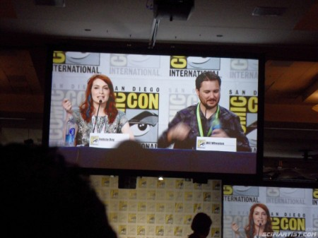 Felicia Day & Wil Wheaton Comic-Con 2013