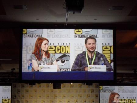 Felicia Day & Wil Wheaton Comic-Con 2013