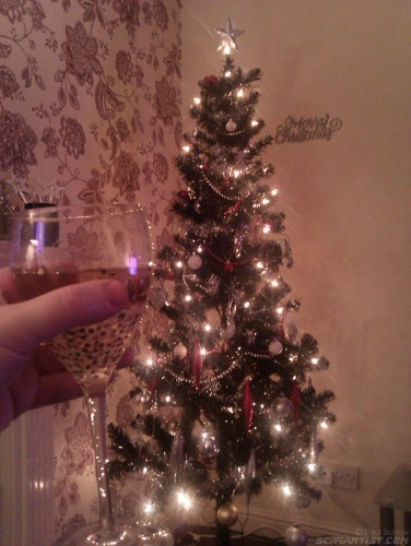 Cheers to the tree!