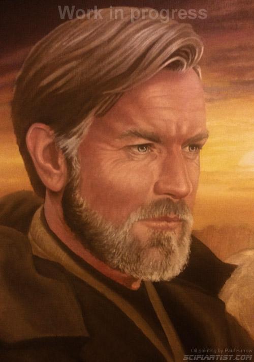 Obi-Wan Kenobi painting update 07/06/15