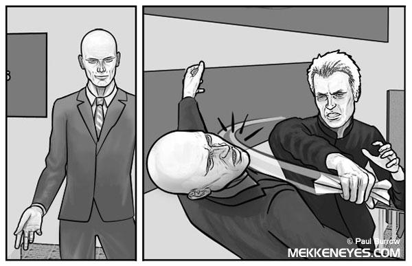 Mekkeneyes panel 1