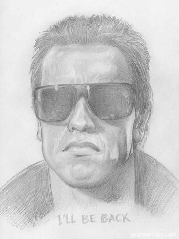 Arnie  - The Terminator sketch
