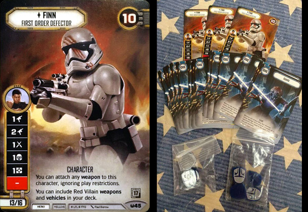 Finn alternate art promo card - oil painting by Paul Burrow - Star Wars Destiny ©FFG