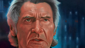 Click to view Resolve - Han Solo Oil Painting