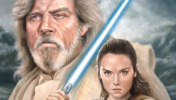 Click to view The Last Jedi Oil Painting