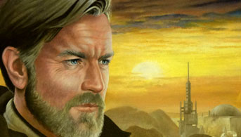 Click to view Ben/Obi-Wan Kenobi Oil Painting