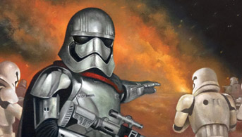 Click to view New Orders - Captain Phasma Oil Painting