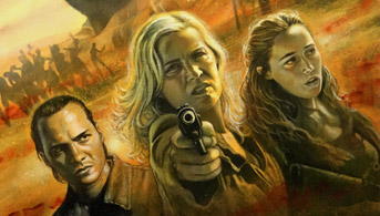 Click to view Fear the walking dead Oil Painting