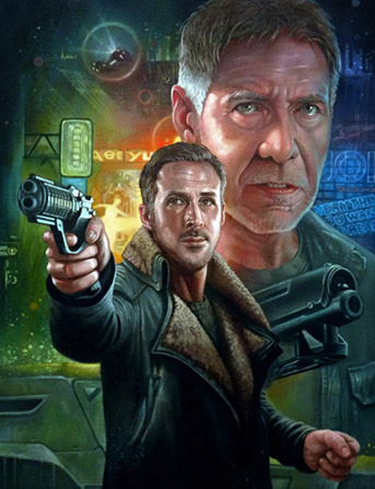 Click to view Blade Runner 2049 Oil Painting