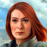 Felicia Day - Shepard Oil Painting