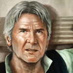 Han Solo - Son of Greedo Oil Painting